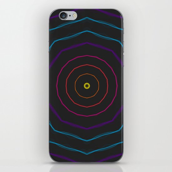 Stay in the light, keep walking the right path iPhone Skin