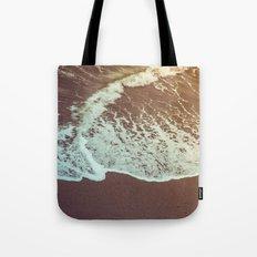 Ocean Beach Waves in California Tote Bag