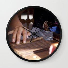 Hand Roll Wall Clock