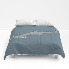 4-Eyed Hammerhead Shark Week Comforters