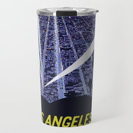 Vintage Travel Poster - Los Angeles Travel Mug