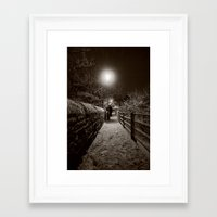 ghost Framed Art Prints featuring Ghost by Mark Nelson