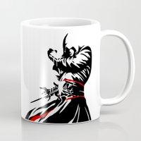 assassins creed Mugs featuring Assassins Creed  by iankingart