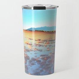 Watery Clouds Travel Mug