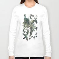 woodland Long Sleeve T-shirts featuring Woodland by Sander Smit