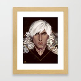 Dragon Age 2: Fenris Framed Art Print