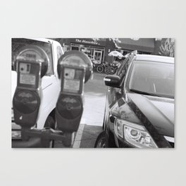 Parking Meter Canvas Print