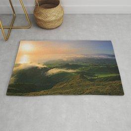 Azores islands landscape Rug