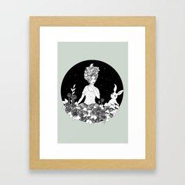 Travelling - Dream of Shining Night Framed Art Print