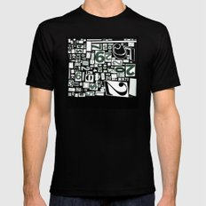 Numbers by Friztin Black MEDIUM Mens Fitted Tee