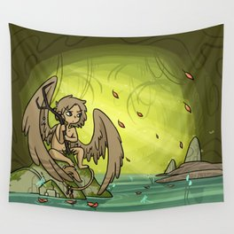 """SH - Soot """"Forest Warden"""" Wall Tapestry"""