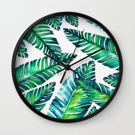 Live tropical I Wall Clock