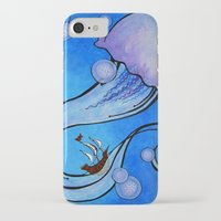 voyage iPhone & iPod Cases featuring Voyage by CSNSArt