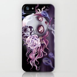 Ghostly Luna iPhone Case