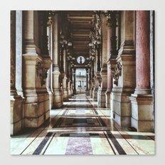 Outside the Palais Garnier Canvas Print