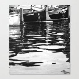 Fishing in Portofino Canvas Print