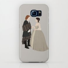 Outlander, Jamie and Claire Galaxy S7 Slim Case