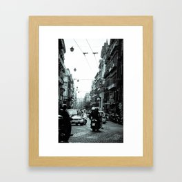 Naples, Spanish Quarter 1 Framed Art Print