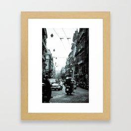 Naples, Spanish Quarter 1 Framed Art Print