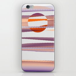 Abstract transparencies iPhone Skin