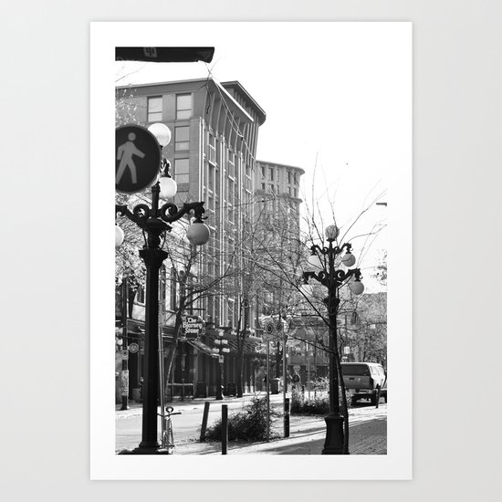 historic gastown  Art Print