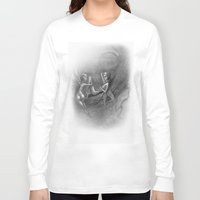 fairies Long Sleeve T-shirts featuring fairies by george houridis