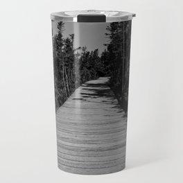 walkway through the trees Travel Mug