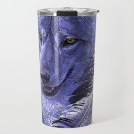 Wolf Spirit Totem Travel Mug