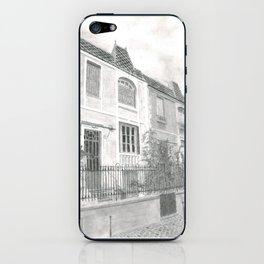 Paris village iPhone Skin