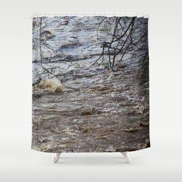 Raging On Shower Curtain