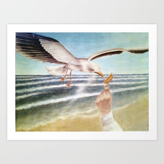 sunchip Art Print