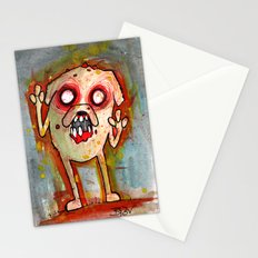 Jake the Zombie dog Stationery Cards