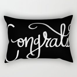 Congrats Confetti Rectangular Pillow