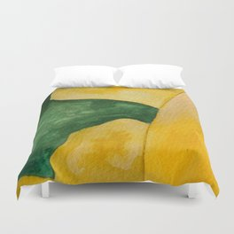 Yellow Landscape Duvet Cover