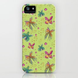 Butterfly Flurry iPhone Case
