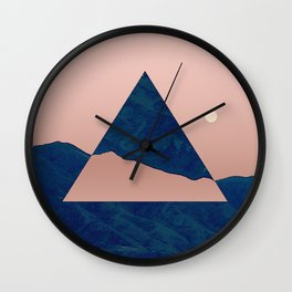 Triangle - Opposite Wall Clock