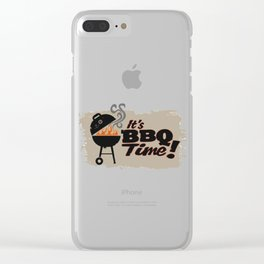 BBQ Party Clear iPhone Case
