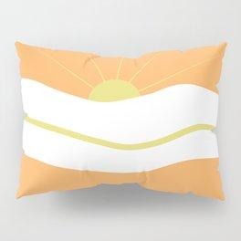 """ Orange days "" Pillow Sham"