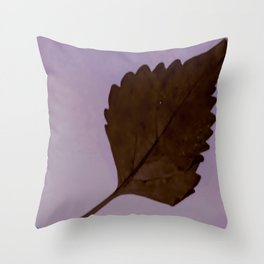 BE LIKE A LEAF #3 Throw Pillow
