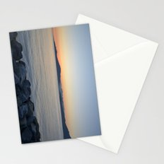 on a western shore Stationery Cards