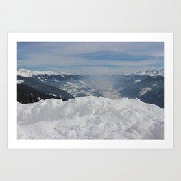 Wunderfull Snow Mountain(s) 5 Art Print