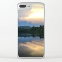Timothy Lake Clear iPhone Case
