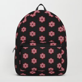 Japanese florals-dotty flowers Backpack