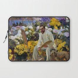 "Joaquín Sorolla y Bastida ""Portrait of Louis Comfort Tiffany"", 1911 Laptop Sleeve"