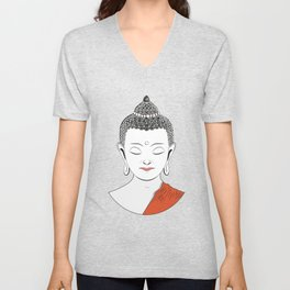 Life of Buddha Unisex V-Neck
