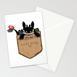 NightFury Stationery Cards