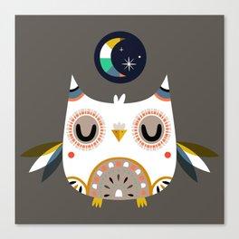 Magic Owl Canvas Print