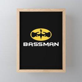 Bassman Framed Mini Art Print