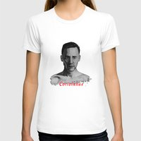 tom hiddleston T-shirts featuring Tom Hiddleston as Coriolanus by OnaVonVerdoux