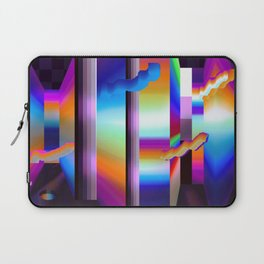colorful labyrinth Laptop Sleeve